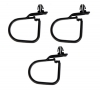 ENGINE WIRING HARNESS RETAINER CLIP SET : 1970 E-BODY