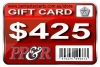 PP&R GIFT CARD : $425