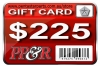 PP&R GIFT CARD : $225