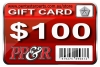 PP&R GIFT CARD : $100