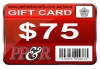 PP&R GIFT CARD : $75