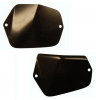 FRONT INNER FENDER COVER SET : 1970-74 E-BODY